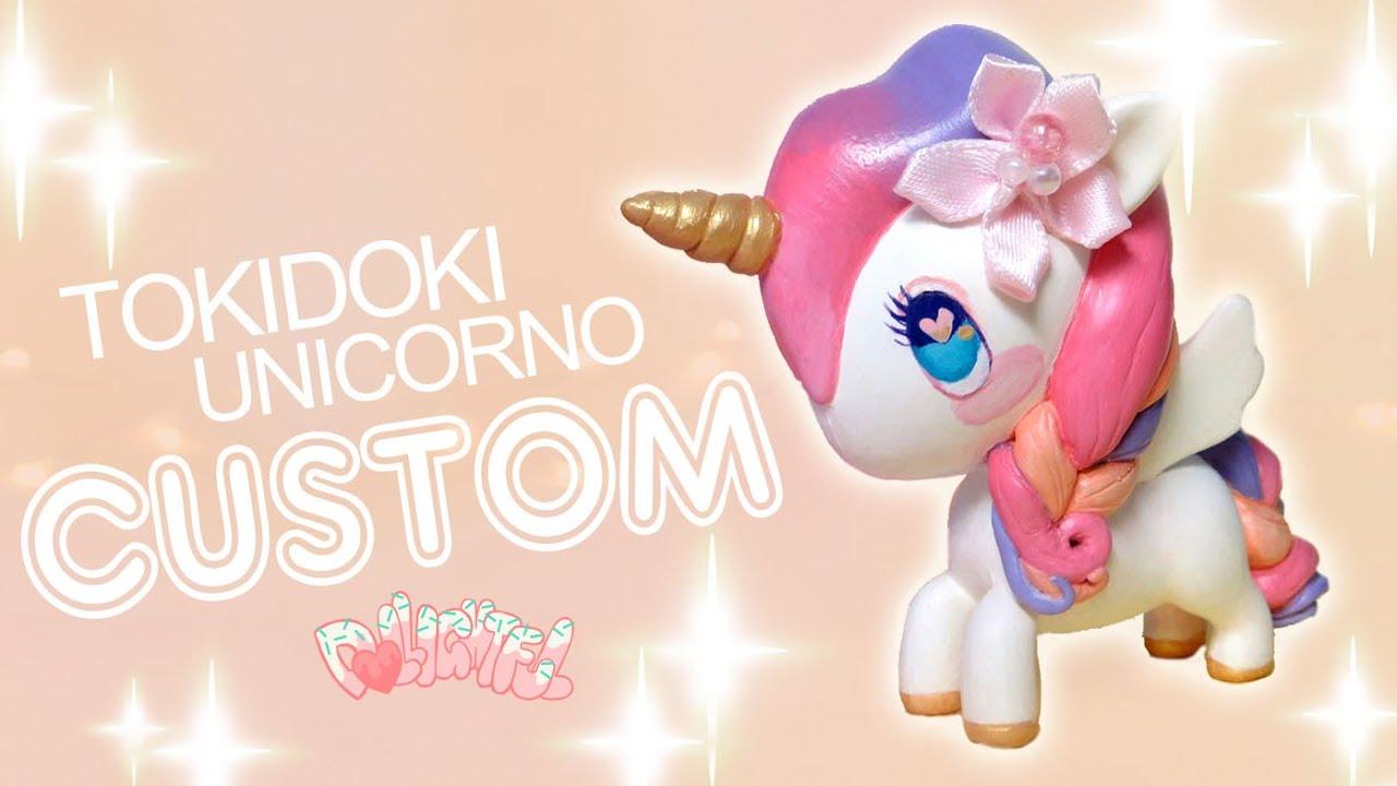 Custom Tokidoki Unicorno Series 4 Sherbet Princess Repaint
