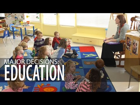 Major Decisions: Elementary Education