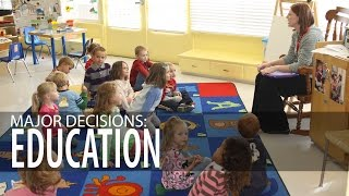 Major Decisions: Elementary Education