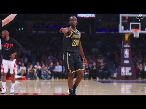 32 Yr-Old Andre Ingram Drops 19 Points In NBA Debut! Full Highlights vs Rockets (2018.04.10)