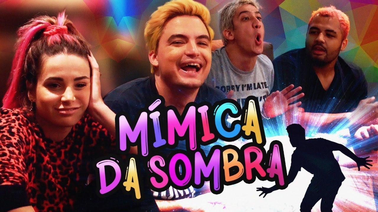 DESAFIO DE MÍMICA NA SOMBRA (POR TRÁS DOS PANOS)!!