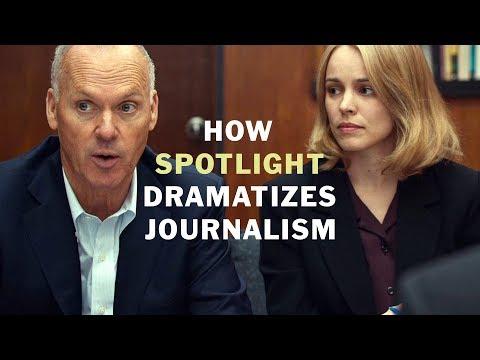 How Spotlight Dramatizes Good Journalism