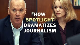 How Spotlight Dramatizes Good Journalism