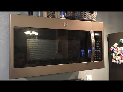 GE Slate Microwave/Hood - Appliance Review