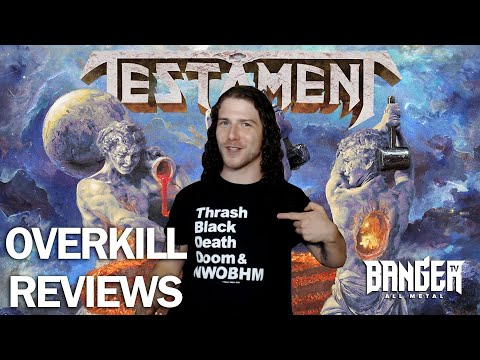TESTAMENT Titans Of Creation Album Review | Overkill Reviews