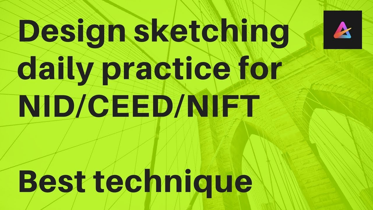Design Sketching Daily Practice For Nid Uceed Ceed Nift Youtube