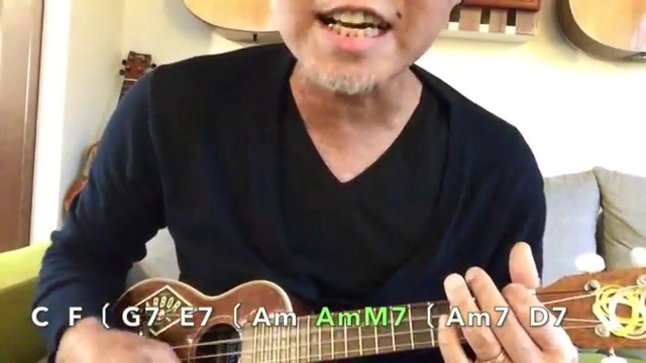 歌うたいのバラッド・斉藤和義  / ウクレレ cover【コード付】GAZZLELE