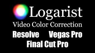Logarist Color Correction for Resolve, Vegas Pro, Final Cut Pro
