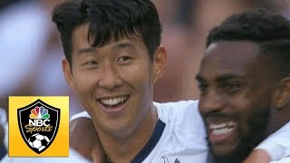 Heung-min Son scores his second with superb volley v. Crystal Palace | Premier League | NBC Sports