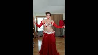 "Cassandra Fox Dances to drum solo ""Tabla x Tabl..."