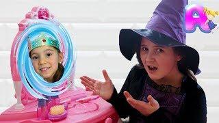 Anna and the magic mirror