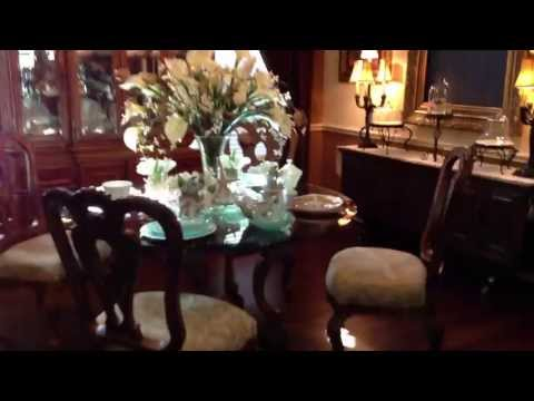 Question What is in the Dinning Room Hutch and Buffett?