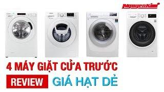 Máy giặt cửa trước giá hạt dẻ - Nguyễn Kim