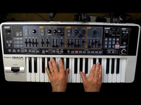 Gaia Synthesizer Sound Designer Software For Sh 01 Overview Youtube