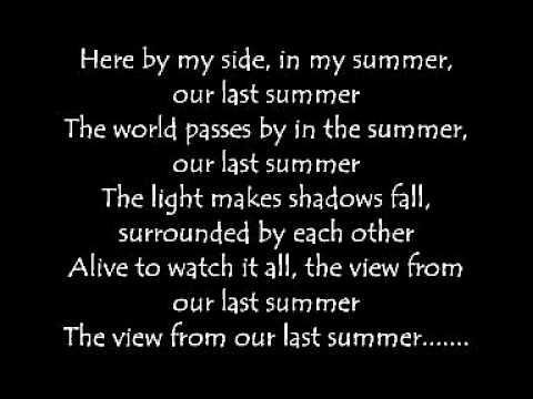 Lostprophets - Last Summer (Lyrics)
