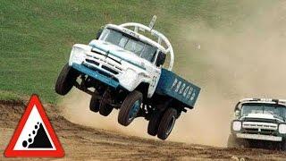 автогонки грузовиков видео