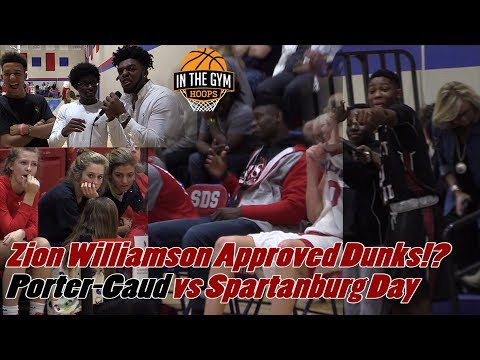 Zion Williamson Approved Dunks!? Plus, Where Will He Go To College!? PG v SDS