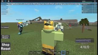 Roblox Stranded on earth gameplay[]DUBSTEP GUN!