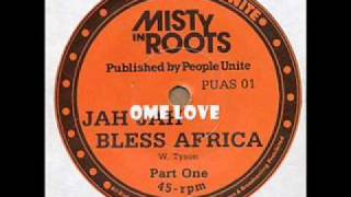 JAH BLESS AFRICA / MISTY IN ROOTS
