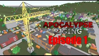 Roblox Apolcalpyse rising gameplay (no commentary) Part 1