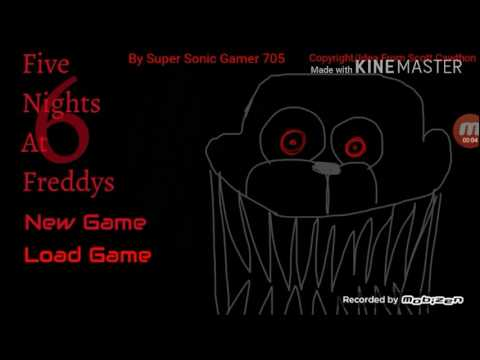 NOW IN GAMEJOLT Five Nights At Freddys 6 (FAN GAME) gameplay/Apk (NEW VERSON OUT)