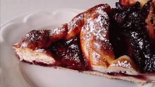 вкуснейший пирог из замороженного теста!Delicious cake!