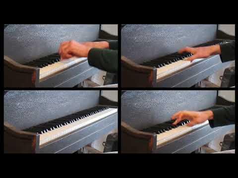 Dethklok - Go Into the Water on Piano