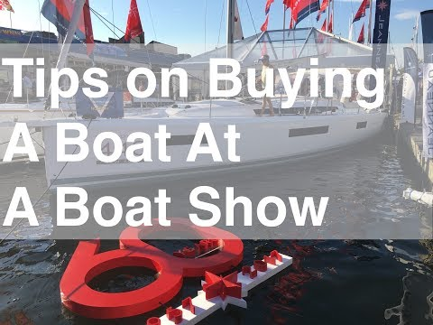 Tips On Buying A Boat At A Boat Show