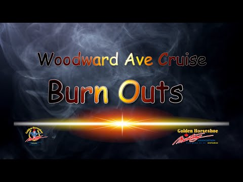 Woodward Ave Dream Cruise 2016 Part 2 of 2 - Burnouts !