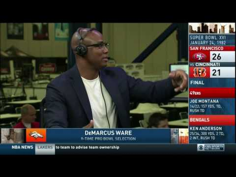 Boomer and Carton - Interview with DeMarcus Ware