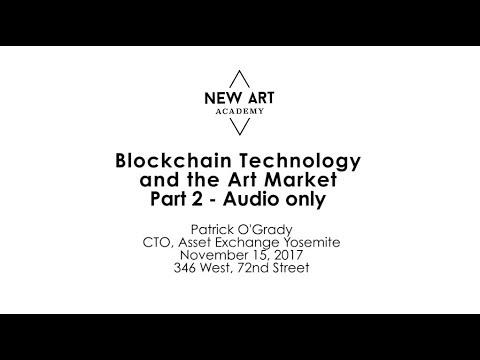 New Art Academy - Blockchain Technology and Art Market