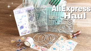 AliExpress Haul Craft items| AliExpress Stamps and Die Cuts