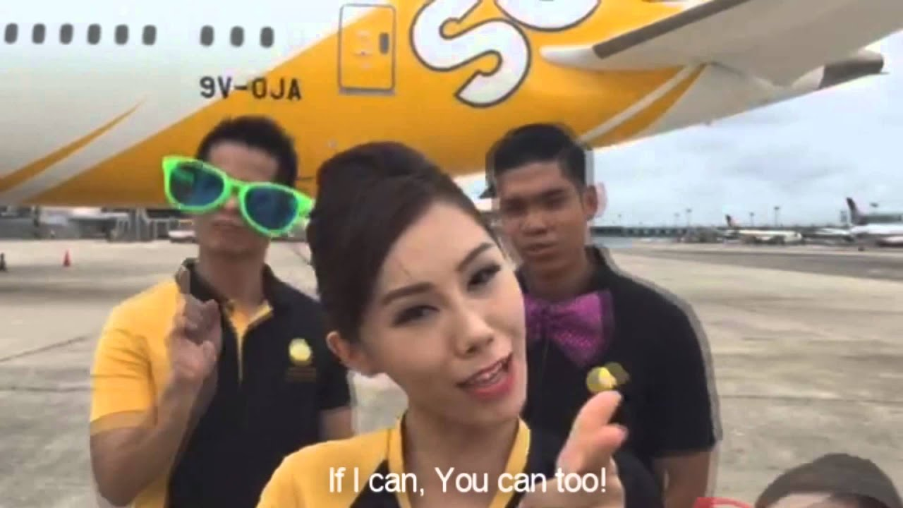 Scoot Careers - Join the Scoot Family as a Cabin Crew! Introducing Scootee  Kendra