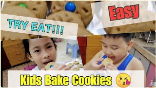 Kids #Try Eat -  #EASY Recipe for Baking #COOKIES