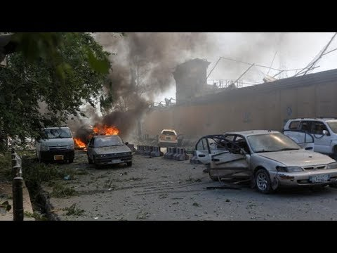 Car bomb attack near German embassy in Kabul
