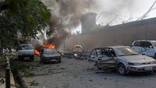 Car bomb attack near German embassy in Kabul
