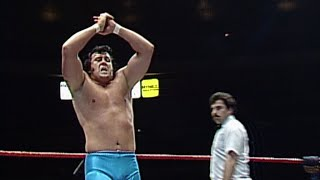 The Honky Tonk Man vs. Pedro Morales: Prime Time Wrestling, March 3, 1987
