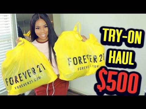 $500 FOREVER 21 TRY ON HAUL