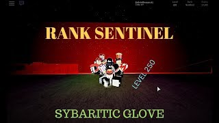ROBLOX - Parkour I Rank Sentinel - Level 250 - Sybaritic Glove & Level Leadboards