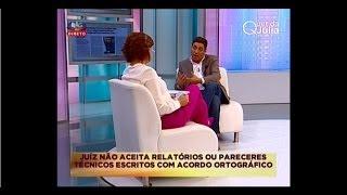 (Des)acordo ortográfico CENSURADO na SIC (1): Hernâni Carvalho sobre o Juiz Rui Teixeira (6Nov.2013)
