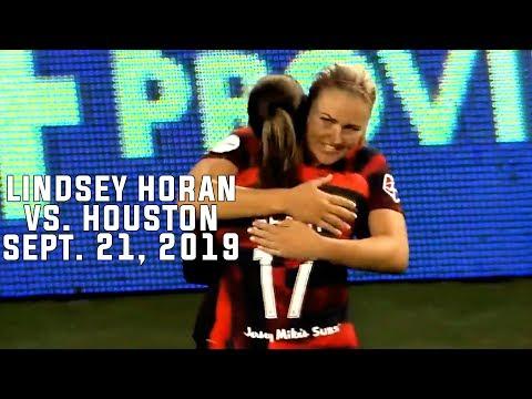 Lindsey Horan Vs Houston Dash (September 21 2019)