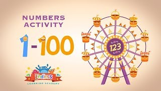 Learn Number From One To Hundred 1 100 In English Endless Numbers
