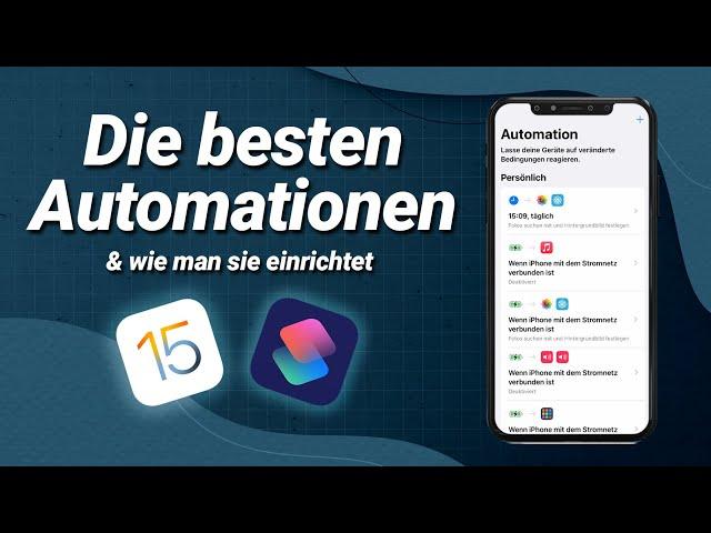 Die besten iPhone Automationen unter iOS15!