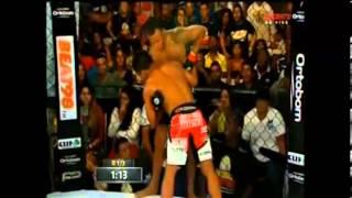 Paulinho Capoeira vs Marcus Vinicius - Jungle Fight 66