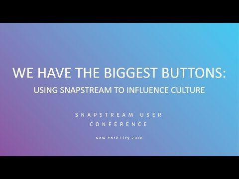 SnapStream User Panel