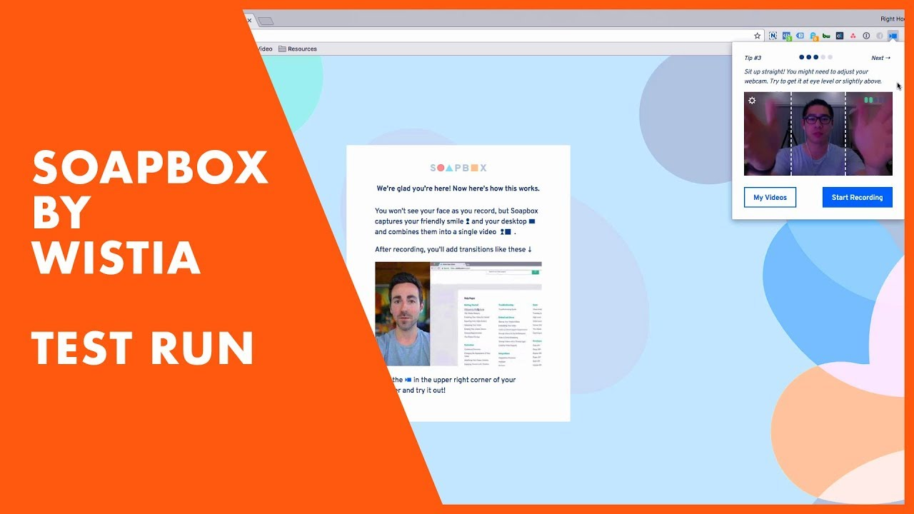 Best Free Screen Recording Software - Soapbox by Wistia | Test Run & First  Impressions