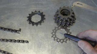 Смазка, чистка, выжимка цепи велосипеда. Как определить износ цепи велосипеда