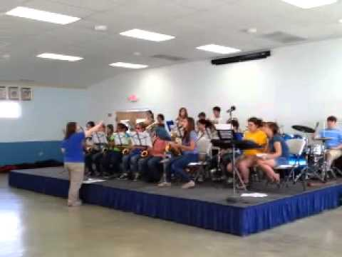 Leonardtown Middle School Jazz Band