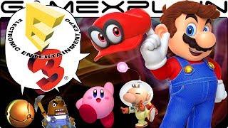 Nintendo @ E3 2017 PREDICTIONS: Super Mario Odyssey, Retro Studios, & Smash Bros Switch?