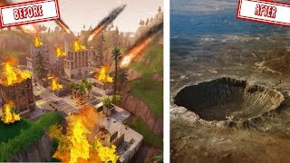 TILTED TOWERS zal VERNIETIGD worden door een METEORIET!! - Fortnite Battle Royale (Nederlands)